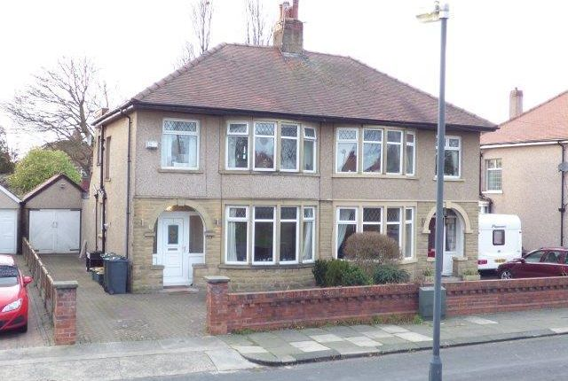 Thumbnail Semi-detached house for sale in Burlington Grove, Morecambe, Lancashire