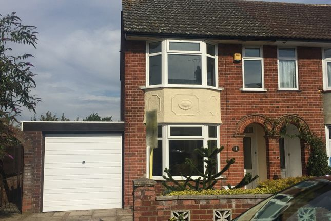 3 bed semi-detached house for sale in Locarno Road, Ipswich
