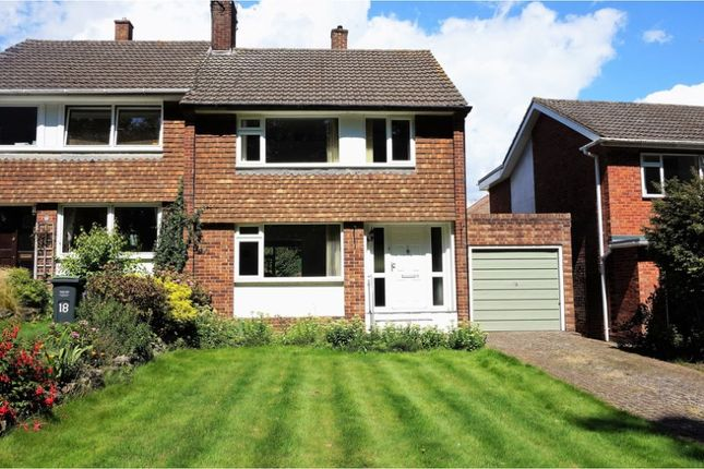 Thumbnail Semi-detached house for sale in Conyerd Road, Borough Green, Sevenoaks