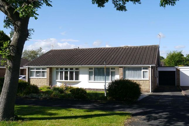 Thumbnail Semi-detached bungalow for sale in Castle Way, Dinnington, Newcastle Upon Tyne