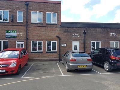 Thumbnail Office to let in Unit 27A Old Street, Bailie Gate Industrial Estate, Wimborne, Dorset