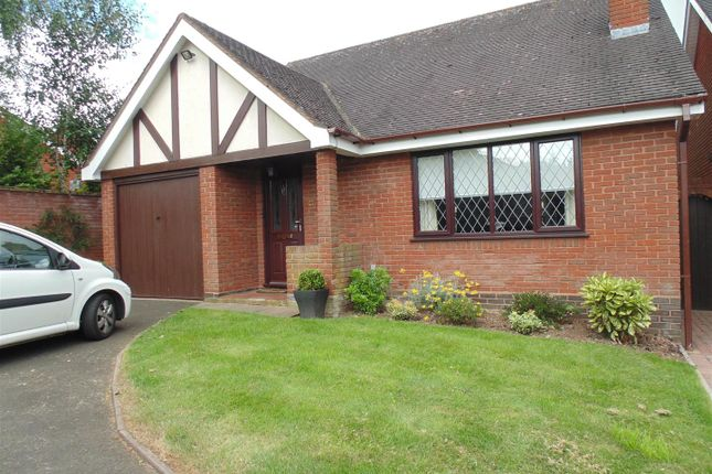 Thumbnail Detached bungalow to rent in Millbrook Drive, Shenstone, Lichfield