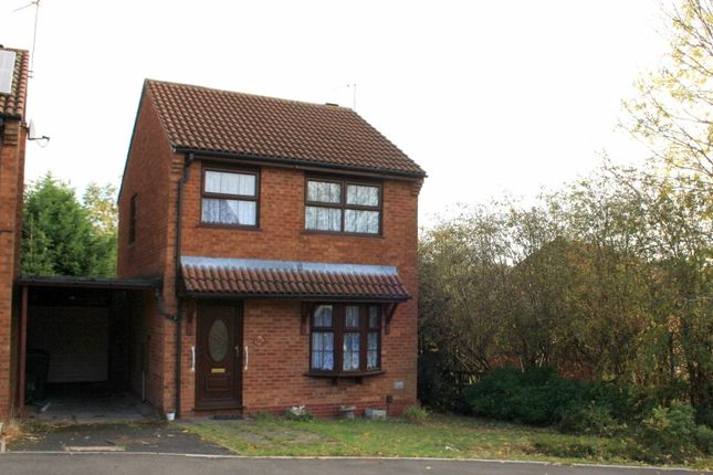 Thumbnail Detached house to rent in Rangeworthy Close, Redditch