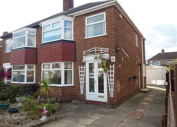 Thumbnail Semi-detached house for sale in Salsbury Avenue, Grimsby