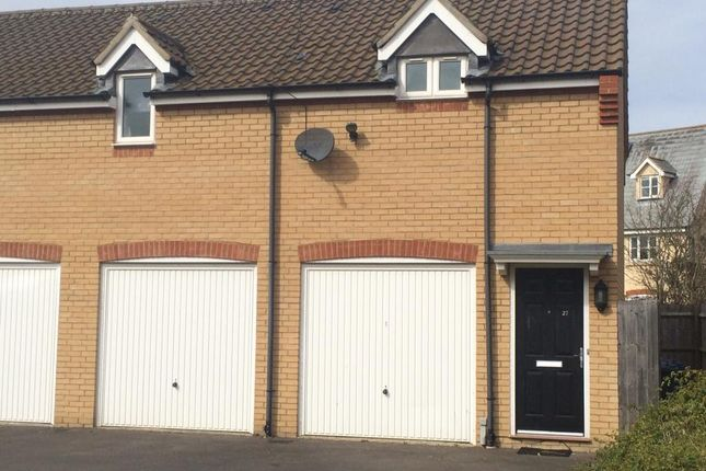 Thumbnail Flat to rent in Bullrush Lane, Great Cambourne, Cambourne, Cambridge