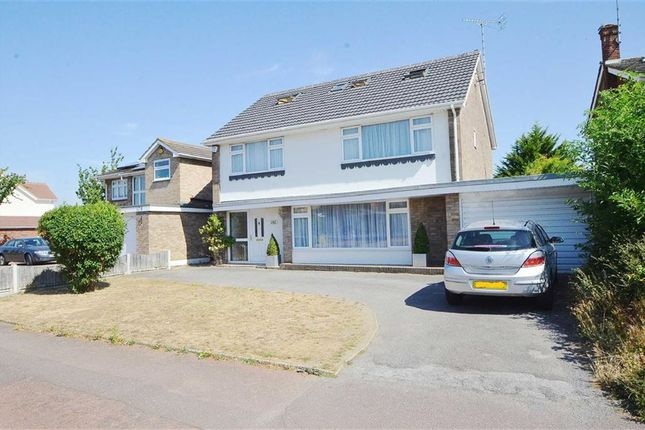 Thumbnail Detached house for sale in Burges Road, Southend-On-Sea