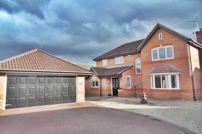 Thumbnail Detached house to rent in Bramblewick Drive, Littleover, Derby