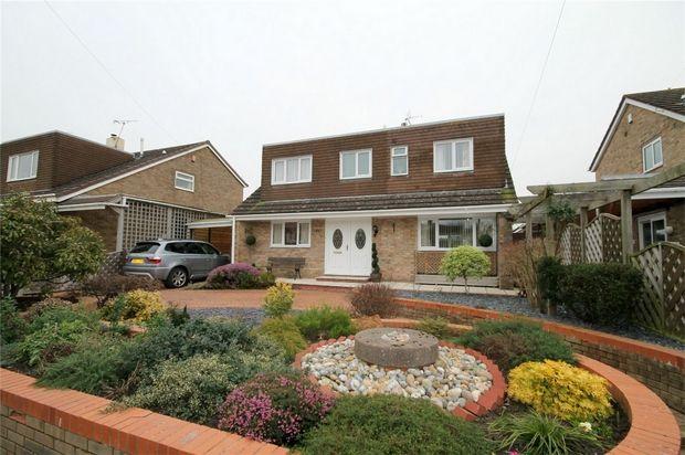 Thumbnail Detached house for sale in St Annes Drive, Coalpit Heath, Bristol