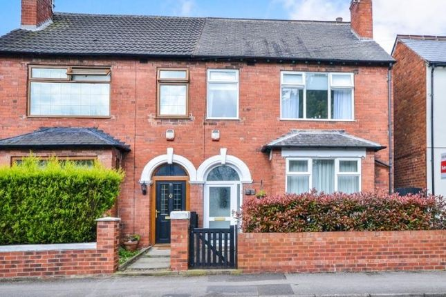 Thumbnail Semi-detached house to rent in Layton Avenue, Mansfield, Nottinghamshire