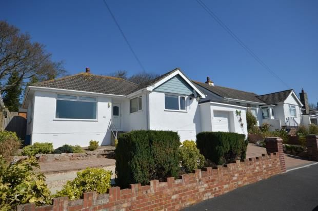 Thumbnail Detached bungalow for sale in Hazeldown Road, Teignmouth, Devon