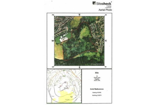 Thumbnail Land for sale in Gorse Lane, Rugeley