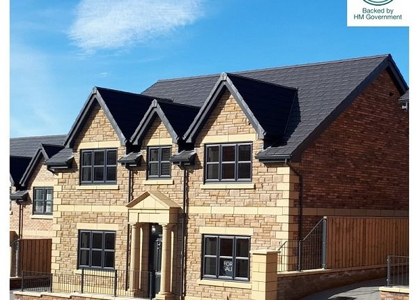 Thumbnail Detached house for sale in The Stow, Scotby, Carlisle