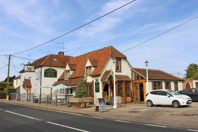 Thumbnail Pub/bar for sale in Essex - Superbly Presented Village Pub CM6, White Roding, Essex