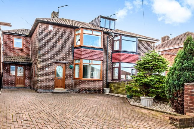 Thumbnail Semi-detached house for sale in Leedham Road, Rotherham