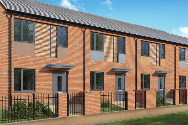 Thumbnail Terraced house for sale in Camp Road, Bordon