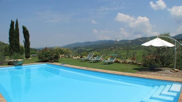 6 bed property for sale in Panoramic Farmhouse Restoration, Chianti, Tuscany