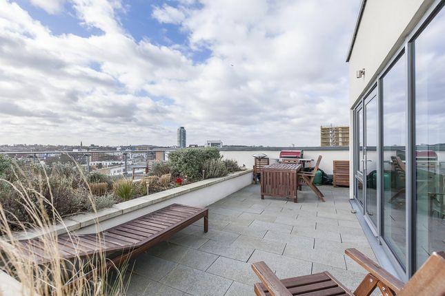 Roof Terrace of Norman Road, London SE10