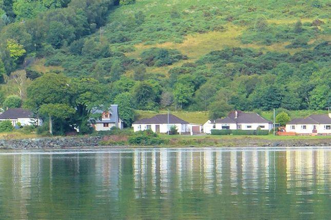 Thumbnail Detached bungalow for sale in Lowenva Glenburn Road, Ardrishaig, Lochgilphead