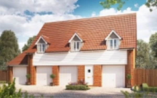 Thumbnail Flat for sale in Silfield Road, Wymondham