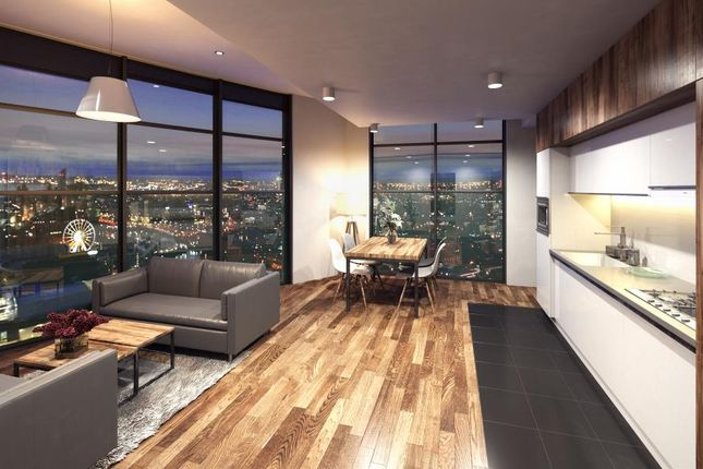Thumbnail Flat for sale in Herculaneum Quay, Liverpool