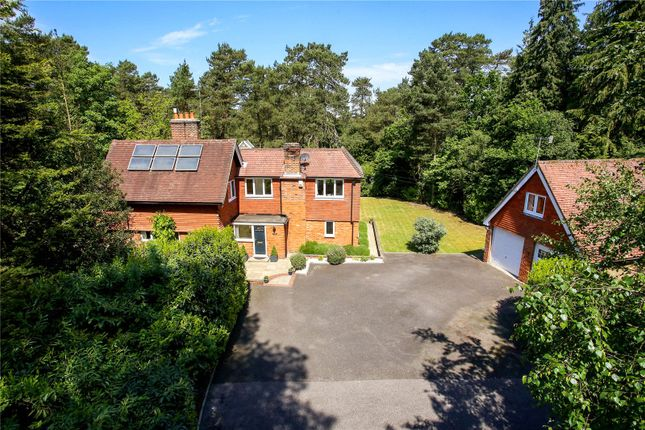 Thumbnail Detached house for sale in Clumps Road, Lower Bourne, Farnham, Surrey