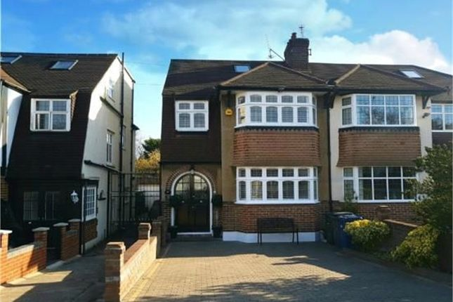 4 bed semi-detached house for sale in Wycherley Crescent, New Barnet, Barnet