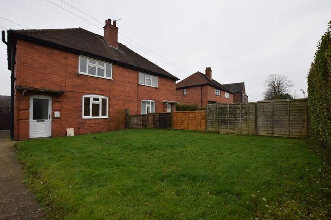 Thumbnail Semi-detached house to rent in Burton Road, Castle Gresley, Swadlincote