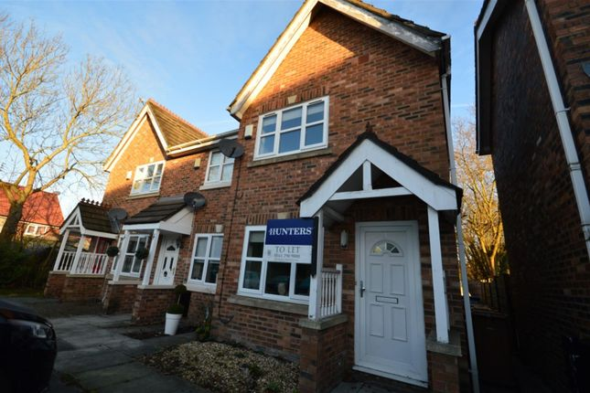 Thumbnail Semi-detached house to rent in Meremanor, Worsley, Manchester