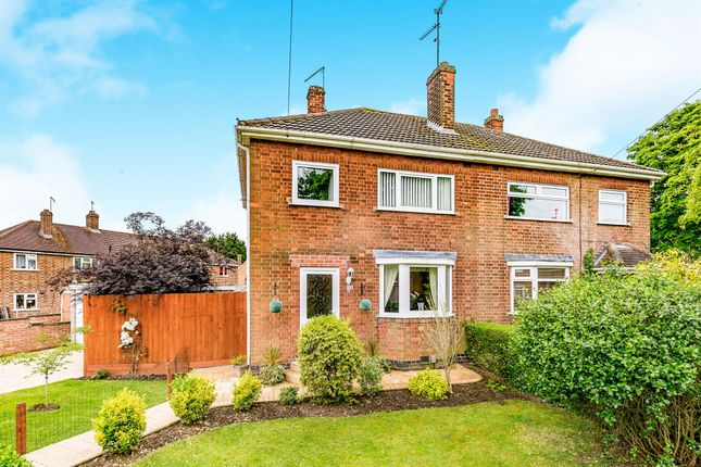 Thumbnail Semi-detached house for sale in Rowlett Road, Lloyds, Corby