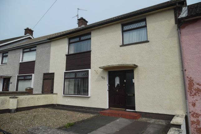 Thumbnail Terraced house to rent in East Way, Newtownabbey
