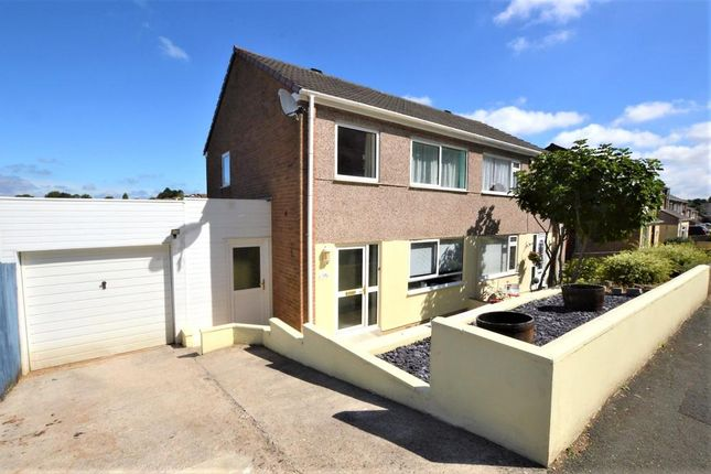 Thumbnail Semi-detached house to rent in Sparke Close, Plymouth, Devon