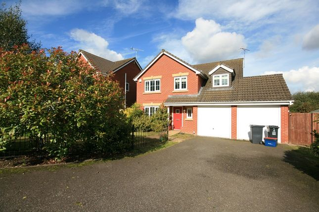 Thumbnail Detached house to rent in Galingale View, Newcastle, Staffordshire