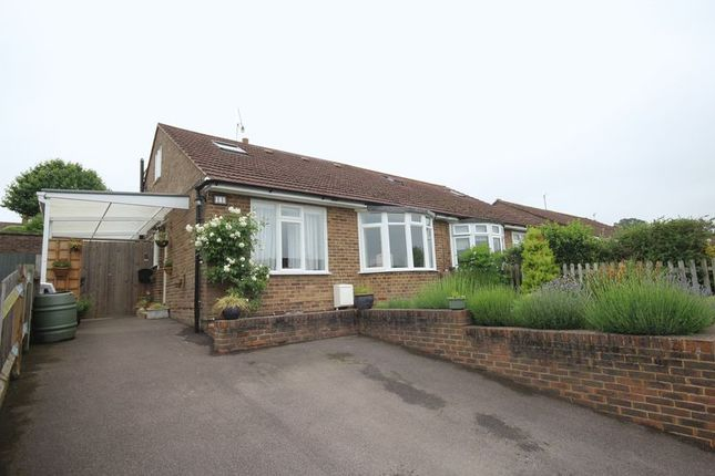 Thumbnail Semi-detached bungalow for sale in Pen Way, Tonbridge