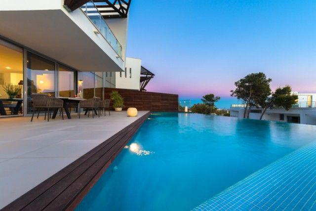Terrace And Pool of Spain, Málaga, Marbella, Sierra Blanca