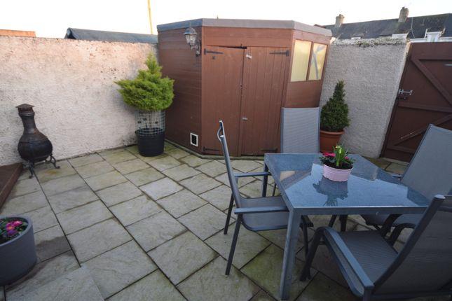 Seating Area of North Row, Barrow-In-Furness, Cumbria LA13