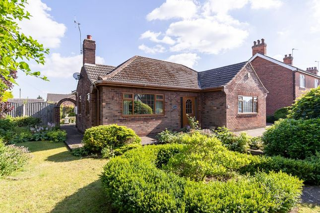 Thumbnail Detached bungalow for sale in Moorwell Road, Bottesford, Scunthorpe