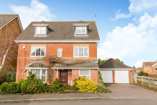 Thumbnail Detached house for sale in Aintree Drive, Rushden