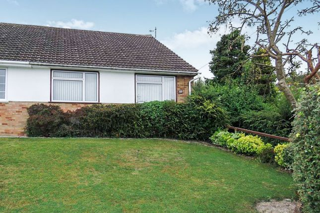 Thumbnail Semi-detached bungalow for sale in Staveley Road, Dunstable