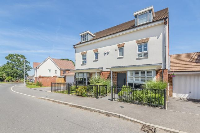 Thumbnail Semi-detached house for sale in Whitlock Avenue, Wokingham