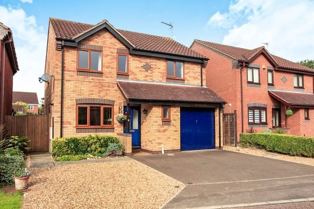 Thumbnail Detached house for sale in Chippenham Mews, Botolph Green, Peterborough