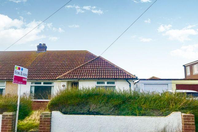 Thumbnail Semi-detached bungalow for sale in Slindon Avenue, Peacehaven
