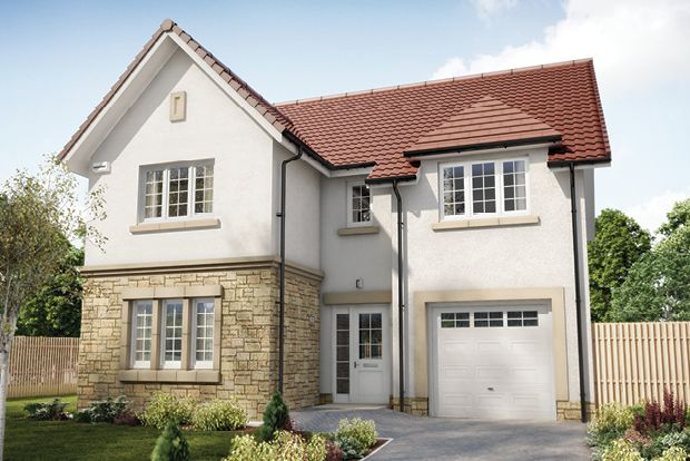 """Thumbnail Detached house for sale in """"The Colville"""" at Wilkieston Road, Ratho, Newbridge"""