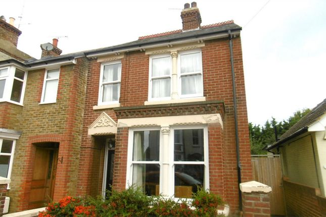 Thumbnail Semi-detached house to rent in Nelson Road, Whitstable, Kent