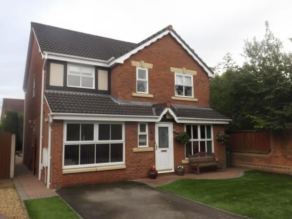 Thumbnail Detached house for sale in California Close, Great Sankey, Warrington