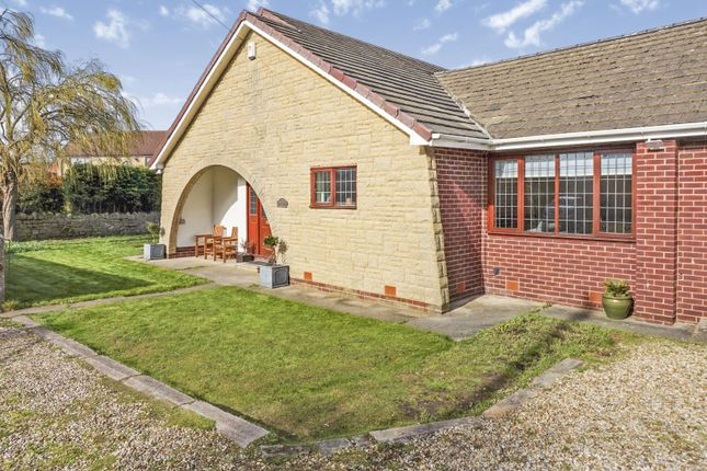 Thumbnail Detached bungalow for sale in Common Road, Worksop
