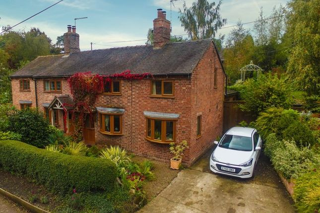 Thumbnail Semi-detached house for sale in Green Lane, Audlem, Crewe