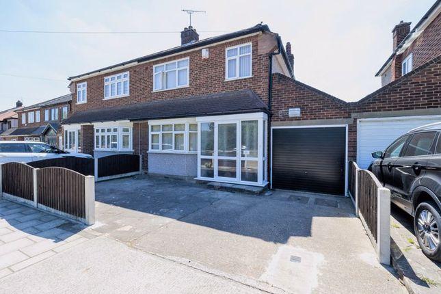 Thumbnail Semi-detached house for sale in Millbrook Gardens, Gidea Park, Romford