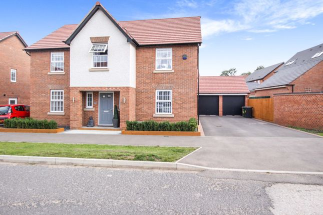Thumbnail Detached house for sale in Galloway Road, Burton-On-Trent