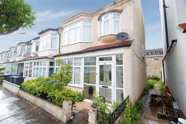 Thumbnail Semi-detached house for sale in Cedar Road, Croydon, Surrey