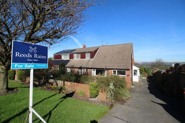 Thumbnail Bungalow for sale in The Court, Halifax Road, Liversedge